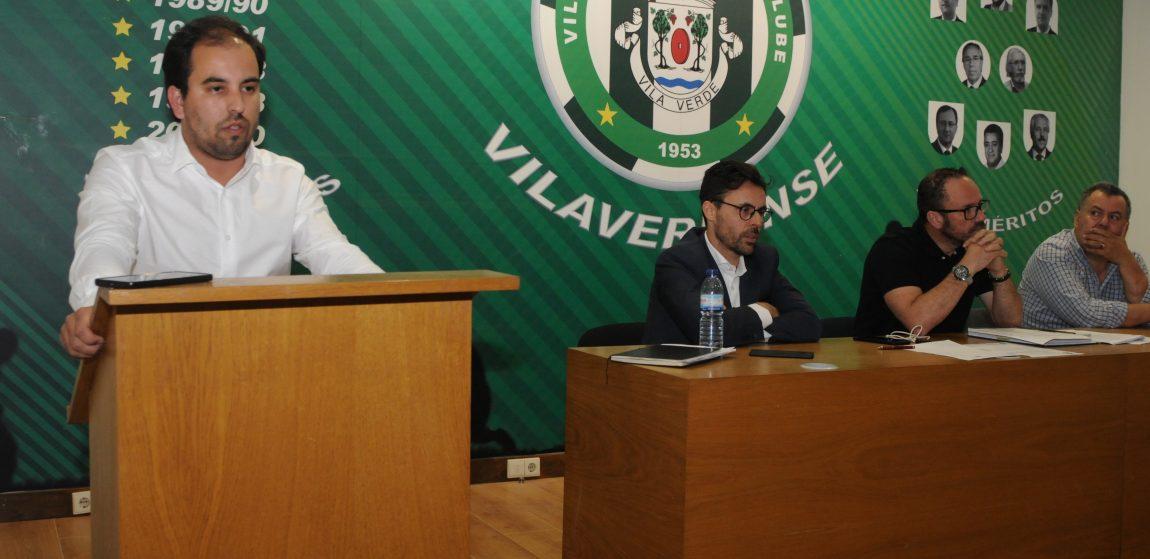 Hugo Santos eleito Presidente do Vilaverdense FC