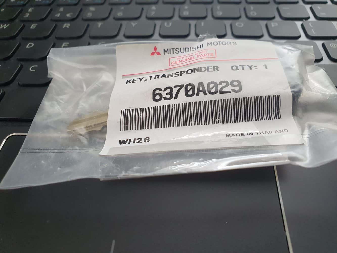 Mitsubishi key programming