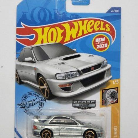 Hot wheels 2020 HW Turbo 1998 Subaru Impreza 22B STI-Version Zamac GHG40