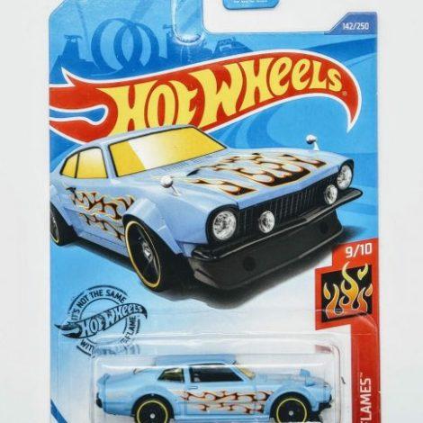 Hot Wheels 2020 HW Flames 1967 Custom Maverick (Blue Kroger Exclusive) GHG62