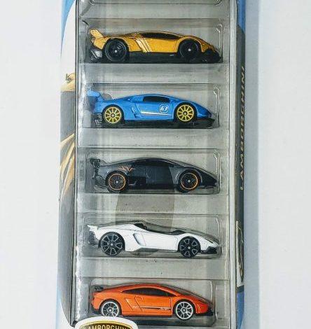 Hot Wheels 2020 Lamborghini 5 pack GHP62