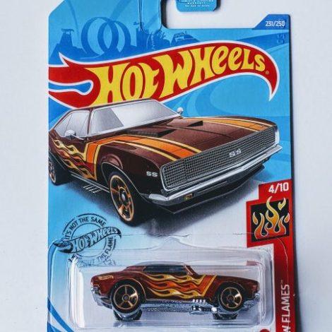 Hot Wheels 2020 HW Flames 1967 Camaro GHD59