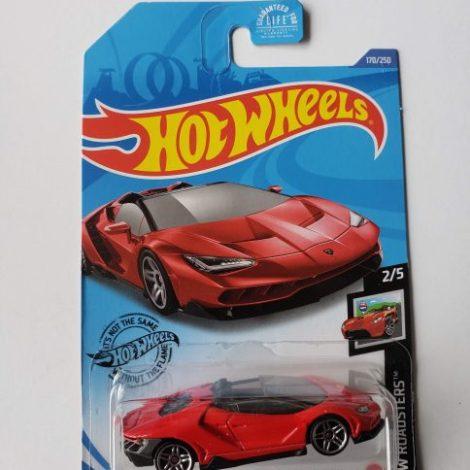 Hot Wheels 2020 HW Roadsters 2016 Lamborghini Centenario Roadster (Red)GLN67