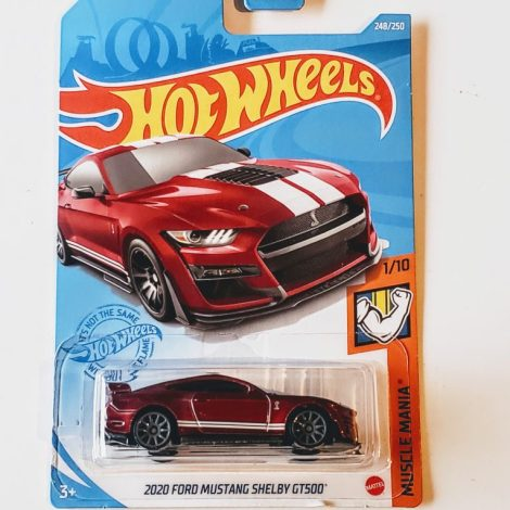 Hot Wheels 2020 Muscle Mania 2020 Ford Mustang Shelby GT500 (Red) Gamestop GTD38