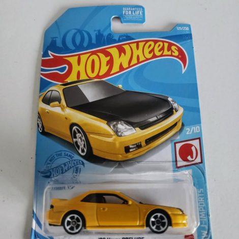 Hot Wheels 2021 HW J-Imports 1998 Honda Prelude GTB05 (yellow)