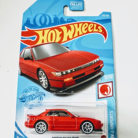 Hot Wheels 2021 HW J-Imports 9 of 10 Nissan Silva (S13) Red GTB07