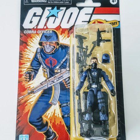 Hasbro 2021 GI Joe Retro Collection 3.75 Action Figure (Walmart Exclusive) Cobra Officer F2728