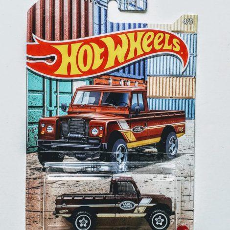 Hot Wheels 2021 Truck Series 1/5 Land Rover Series III Pickup GRP26