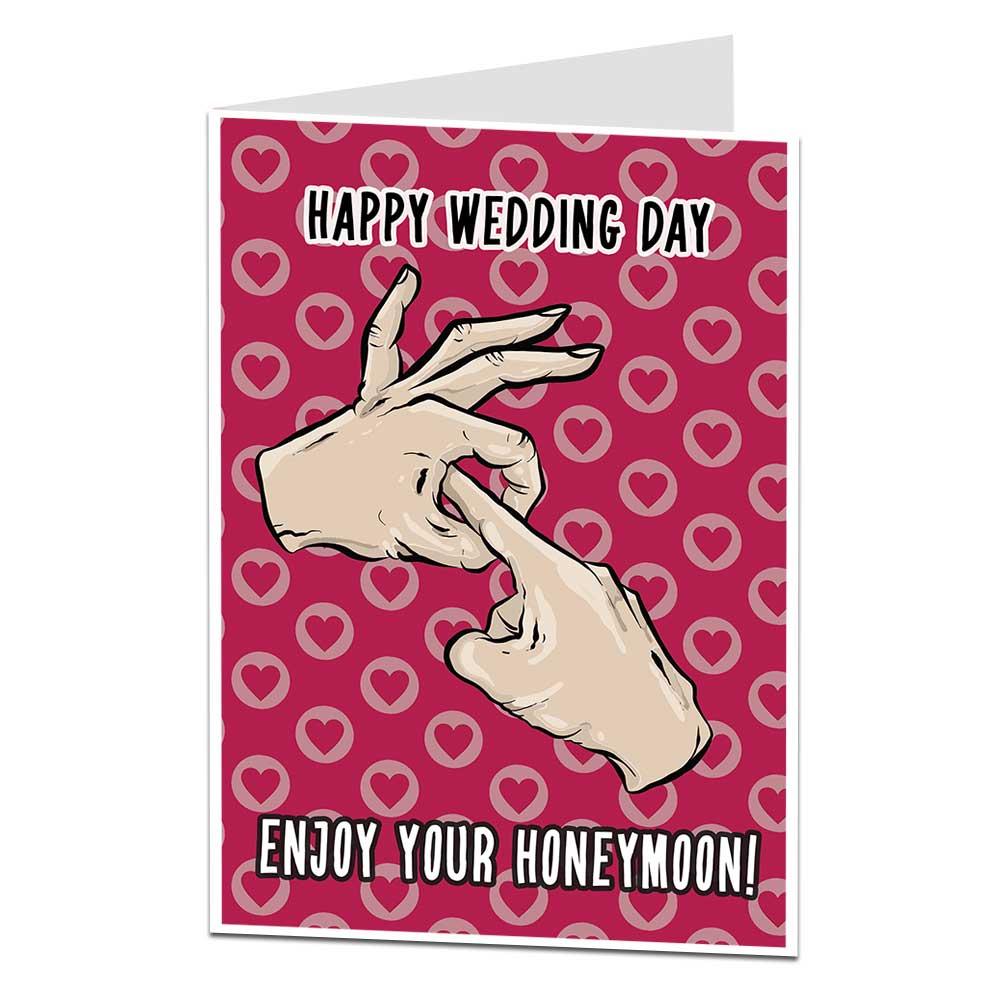 enjoy your honeymoon card