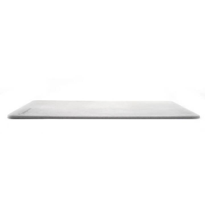 moonstone tapis de bain diatomite 40 cm x 1 cm gris