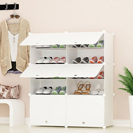 une etagere a chaussures modulaire