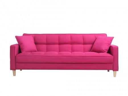 palmer sofa newport sleeper futon pink rent furniture online inhabitr