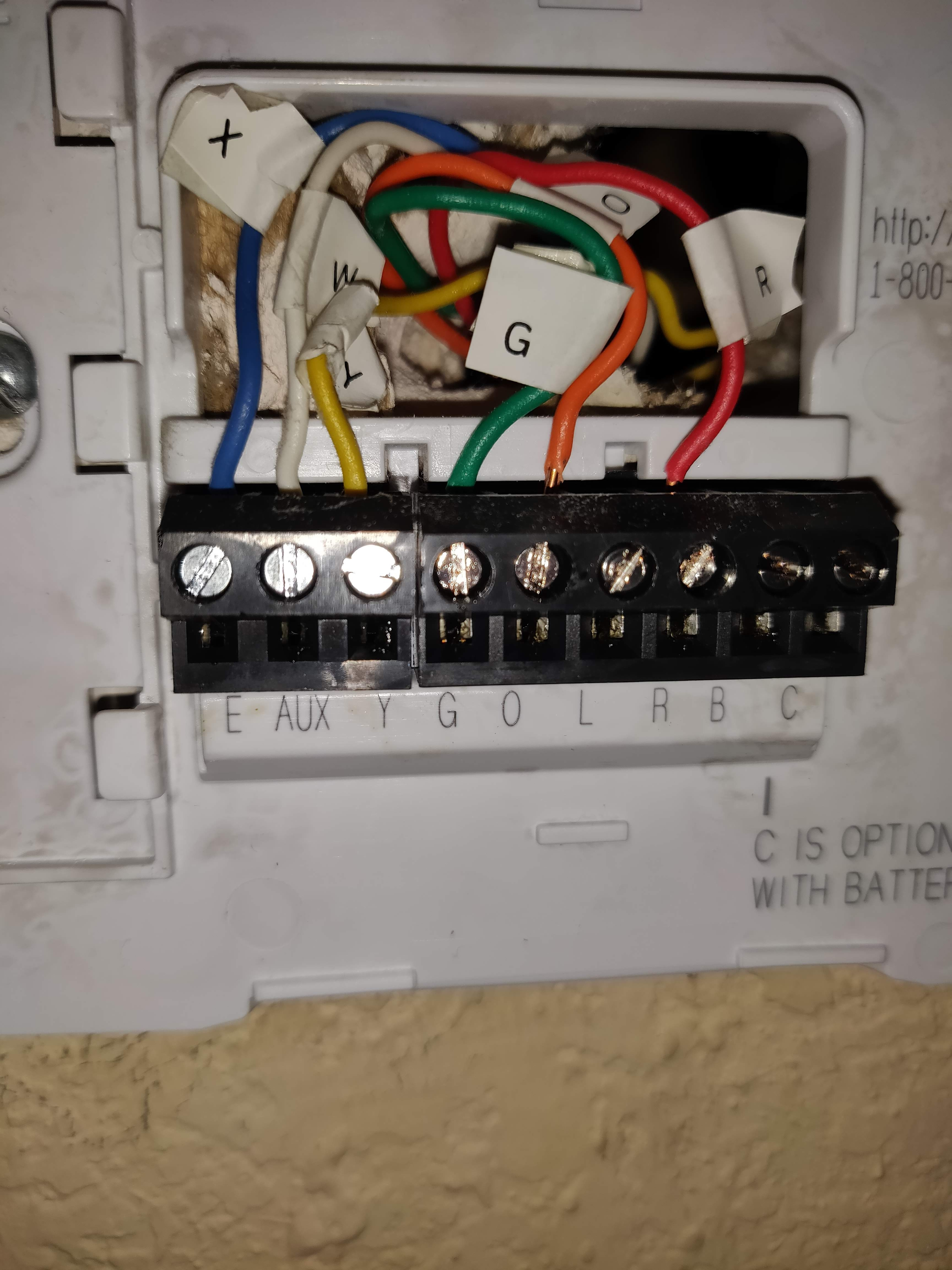 Thermostat Wiring Honeywell : thermostat, wiring, honeywell, Figuring, Wiring, Honeywell, Google, Community