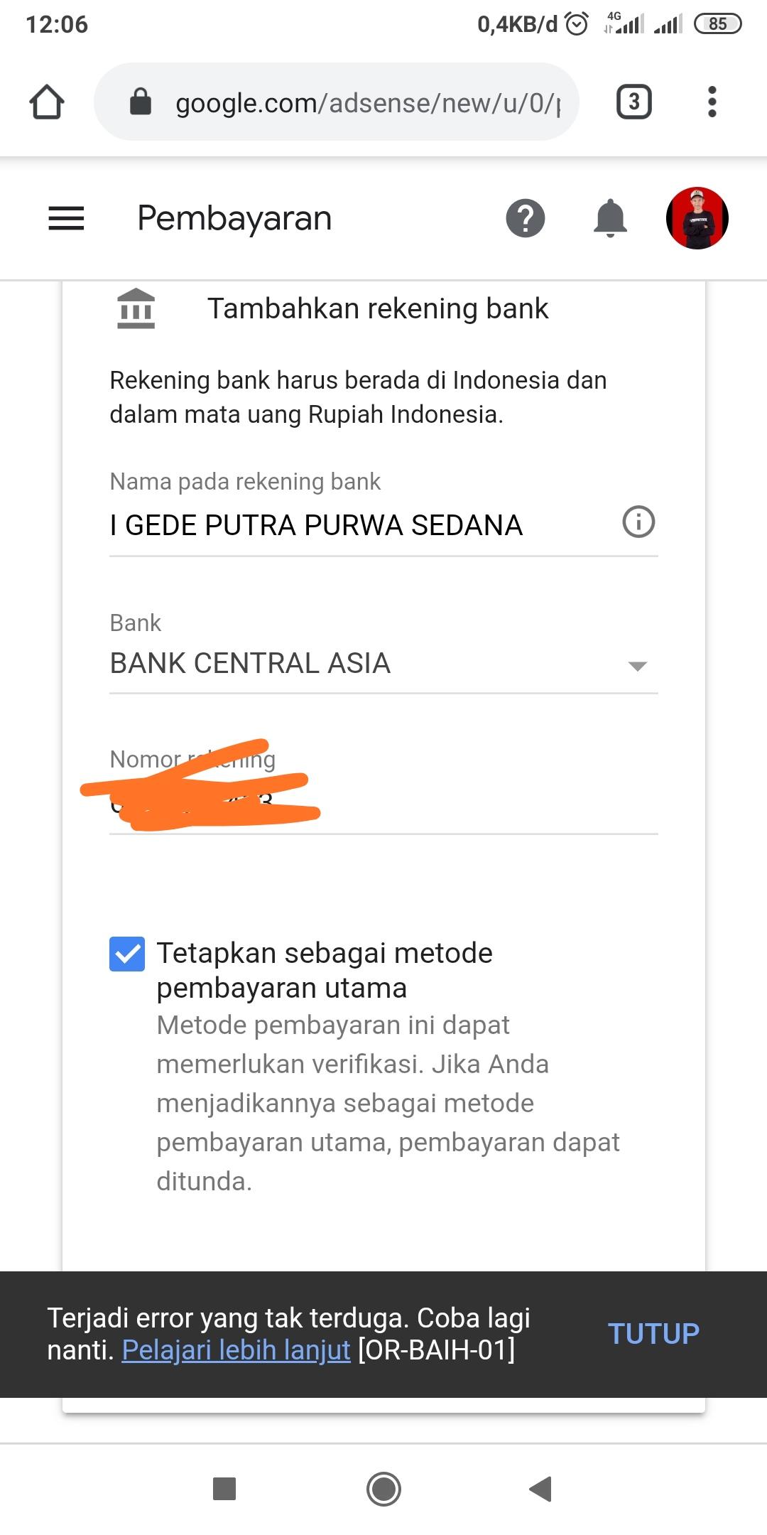 Error Or Baih 01 Google Play Community