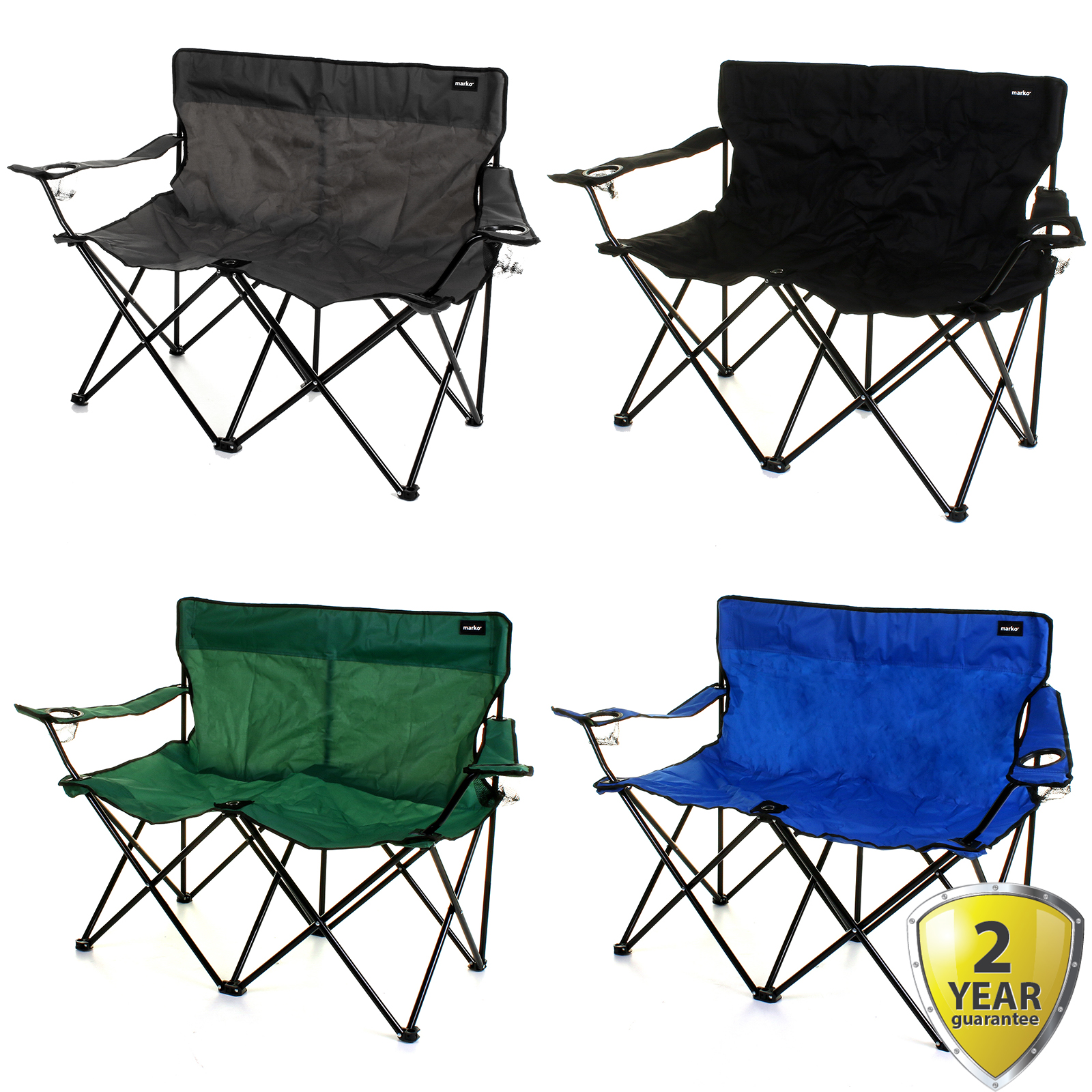 Double Camping Chair Details About 2 Seater Double Camping Chair Outdoor Folding Lightweight Portable Cup Holders