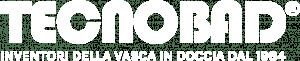 logo Tecnobad bianco