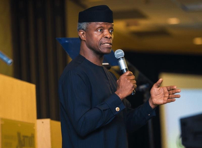 Image result for Yemi Osinbajo: Nigeria has come of age, corruption must stop