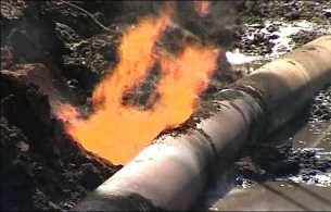 Image result for Abia pipeline explosion site