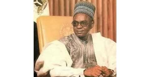 Shagari during his presidency