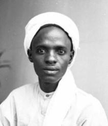 Shagari as a young man
