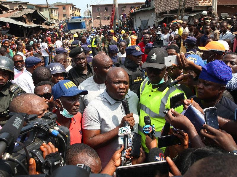 Image result for Demolish or forfeit building, Ambode tells landlords
