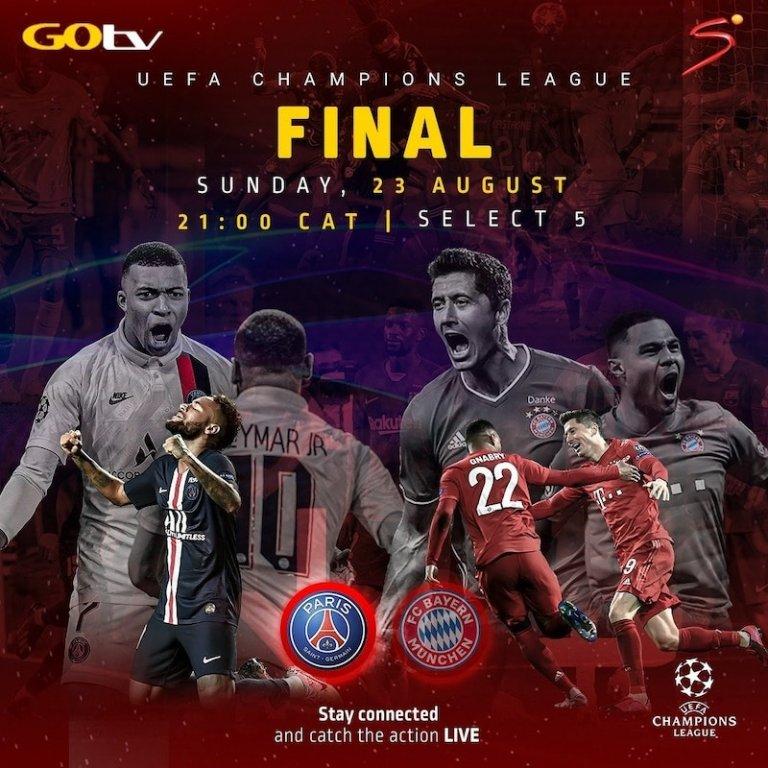 UEFA Champions League Final Battle Live on DStv, GOtv ...