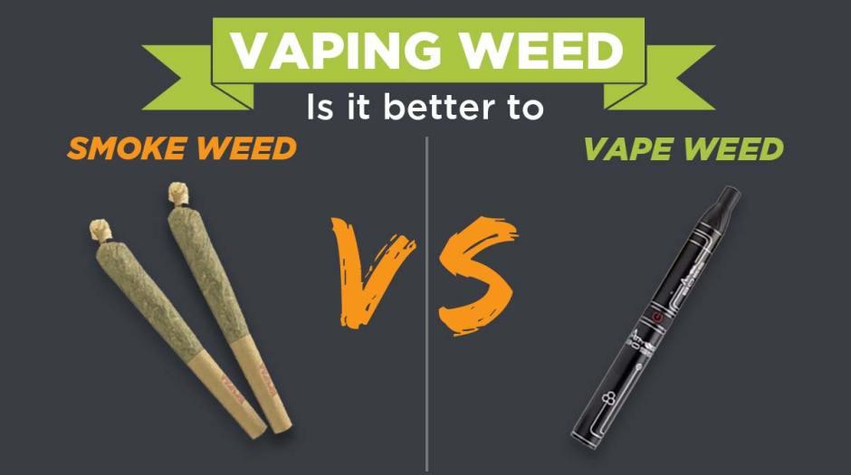 smoke weed or vape weed