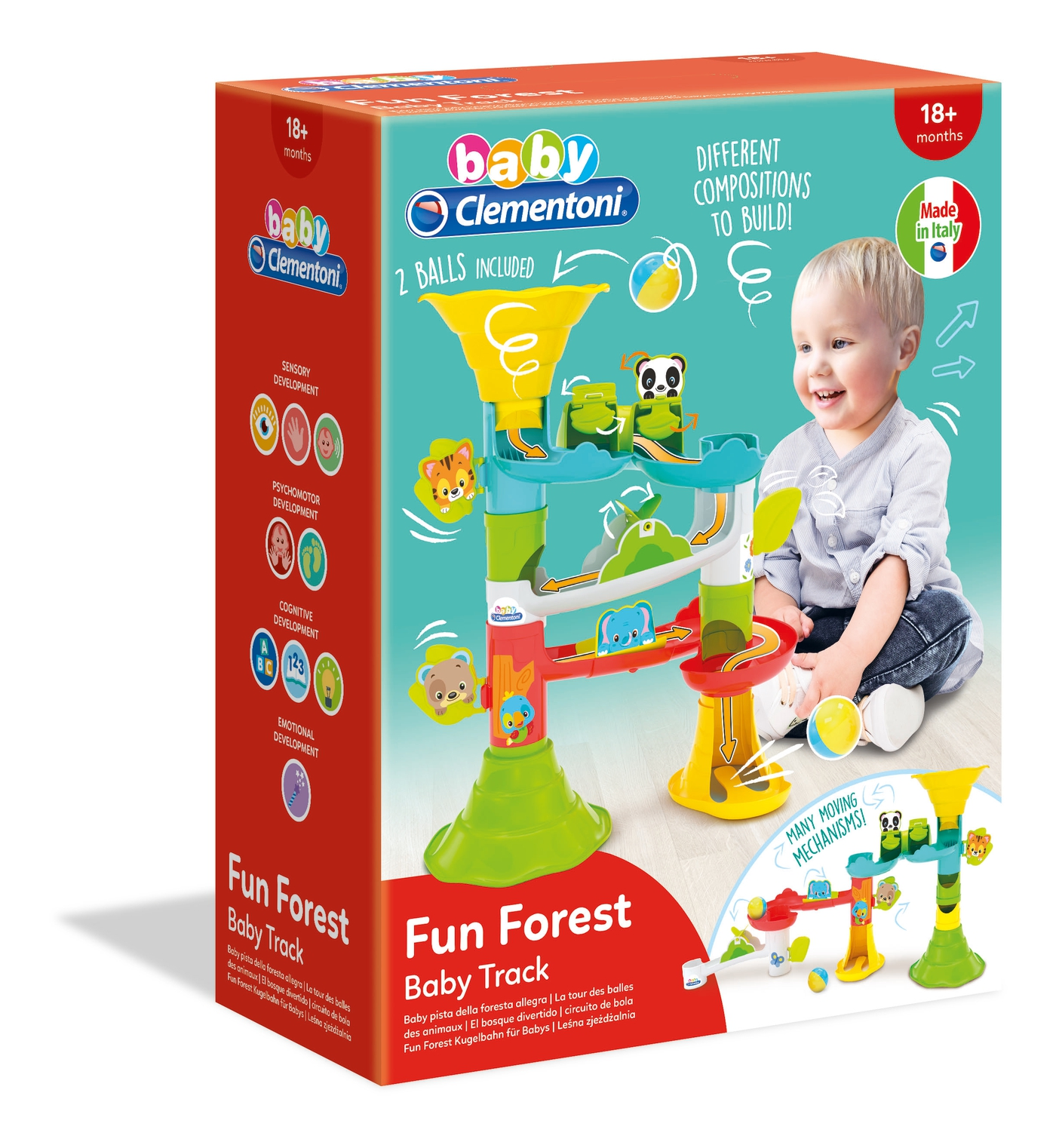 Fun Forest Baby Clementoni - Toys Center