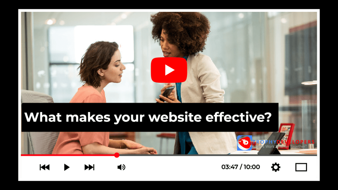 Your website is an important piece of your digital marketing strategy. It may serve as a focal to gather information or the actual destination where a sale takes place. It's an opportunity for a visitor to discover what makes your brand unique, to find the information they're looking for, and to guide them in their decision to buy or to donate.