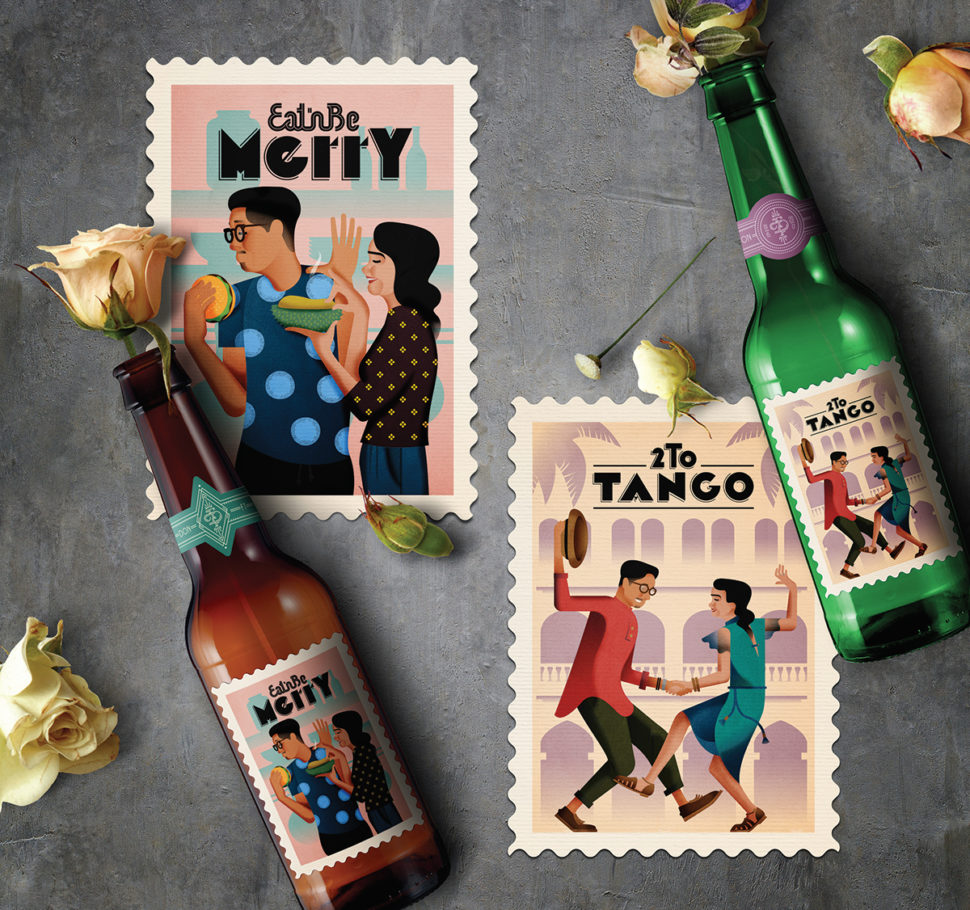 40 creative postage stamps