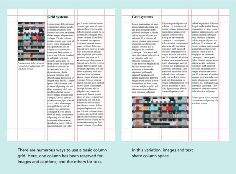 grids in graphic design