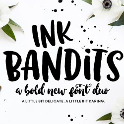 INK BANDITS FONT