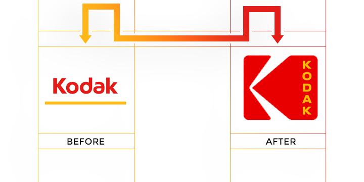 kodak logo redesign