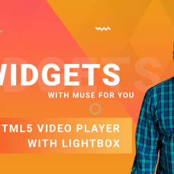 HTML5 Video Player with Lightbox Widget - Adobe Muse CC - Muse For You