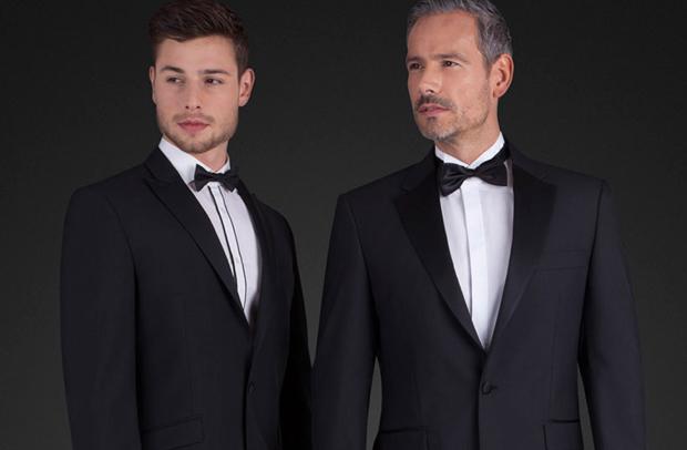 Minimalist wedding attire