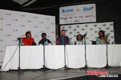 women in hip hop: Nothende, Rapsody, Supa, Nthabi and Lee Kasumba