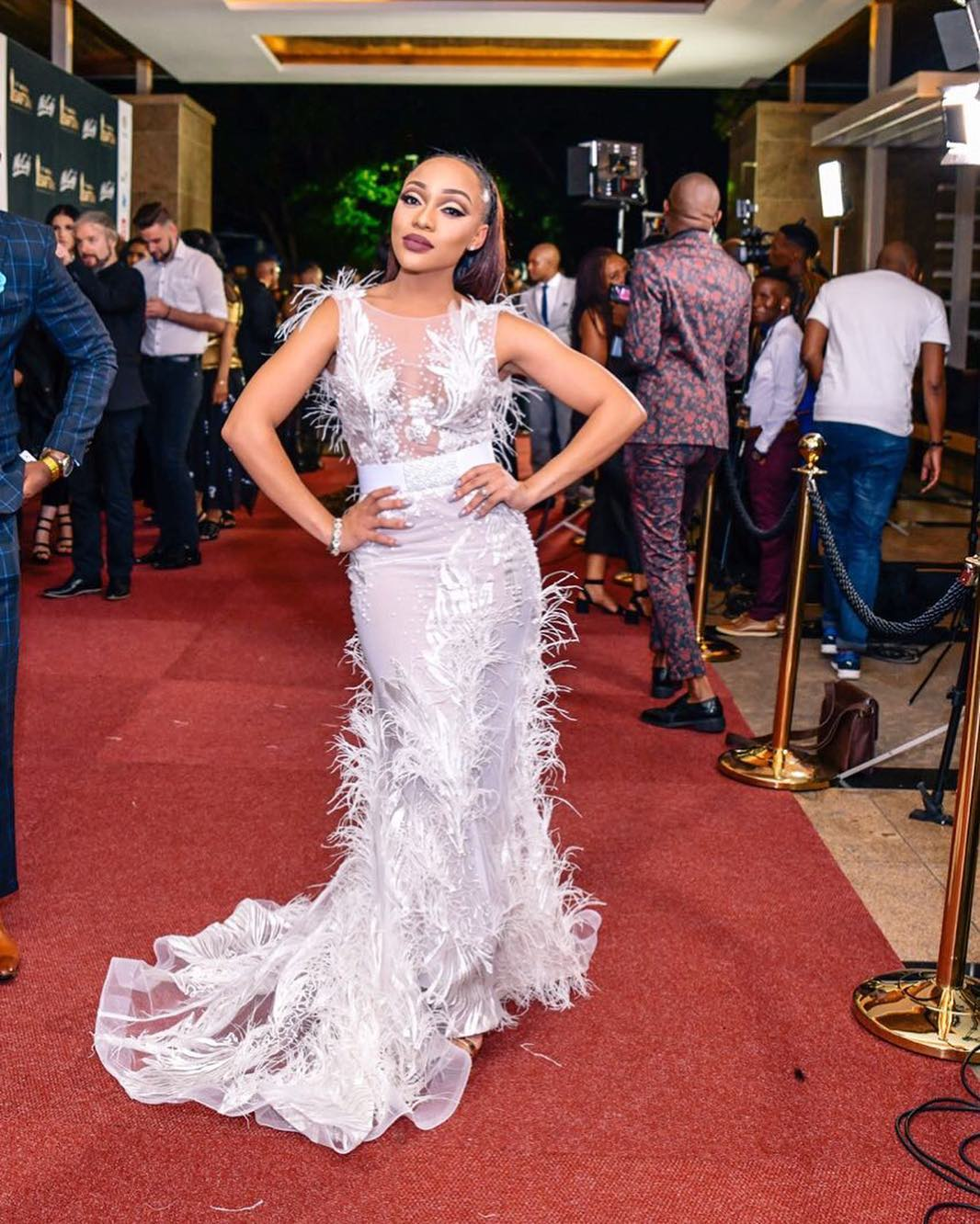 Check Out The Looks From The SAFTAs Red Carpet