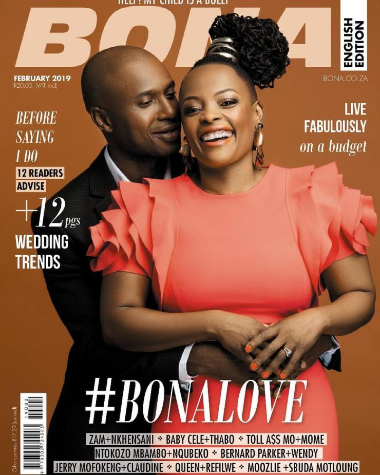 Celebrity Marriages Of 2019: SEE: South African Celebrity Lovebirds Grace Monthly Covers