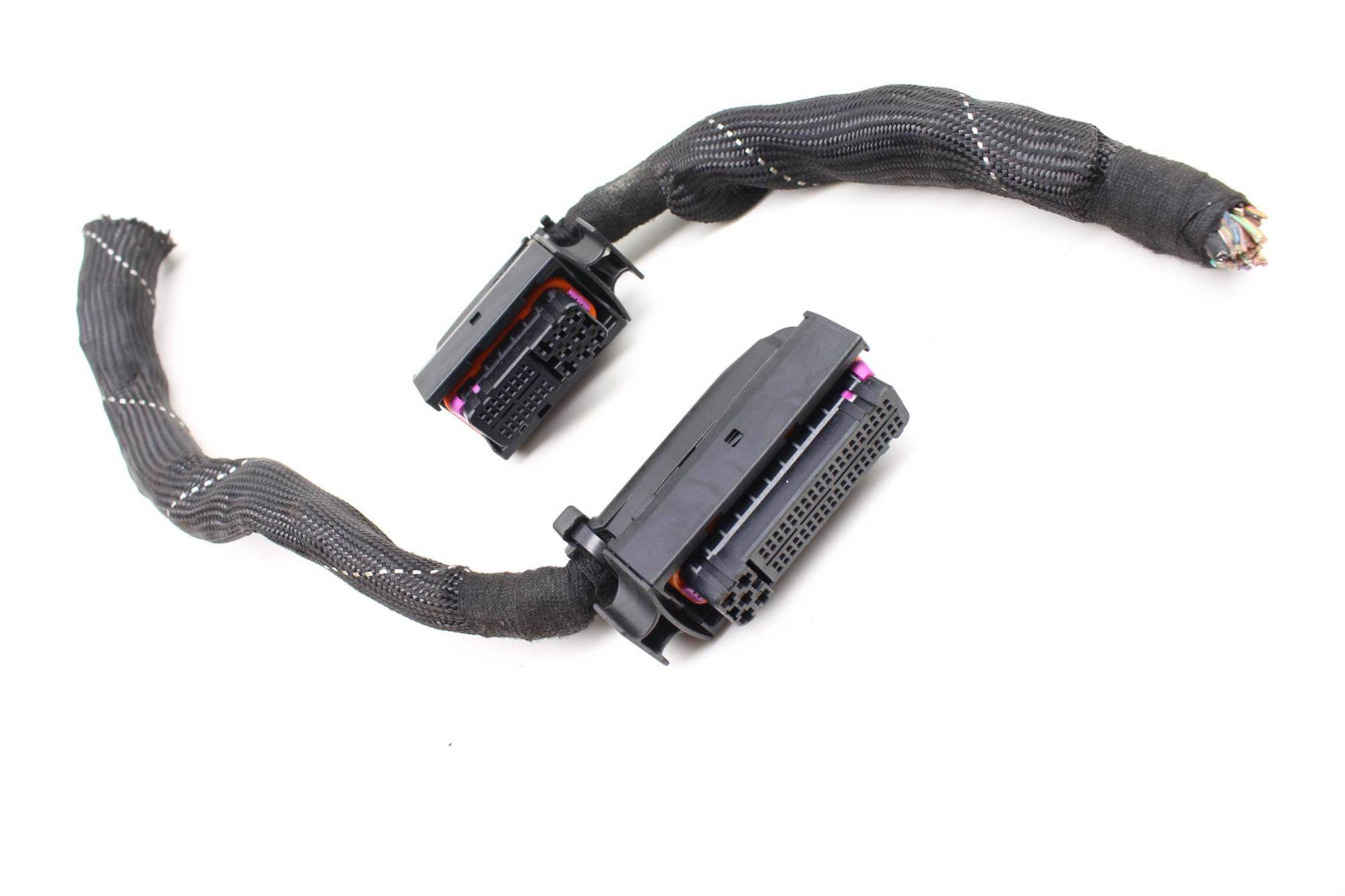 hight resolution of 05 audi s4 b6 4 2l ecu engine control module wiring harness connector set