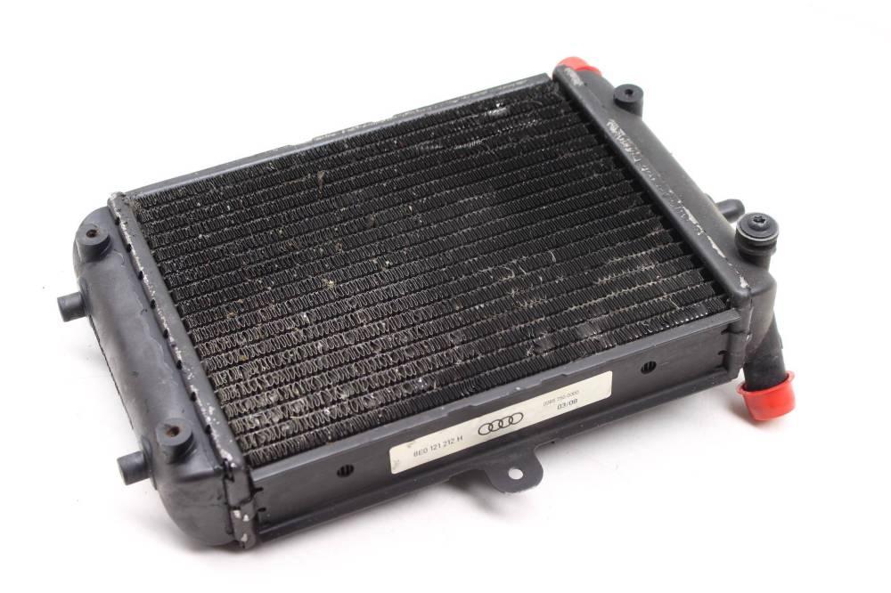medium resolution of 2007 2008 audi rs4 b7 auxiliary secondary radiator