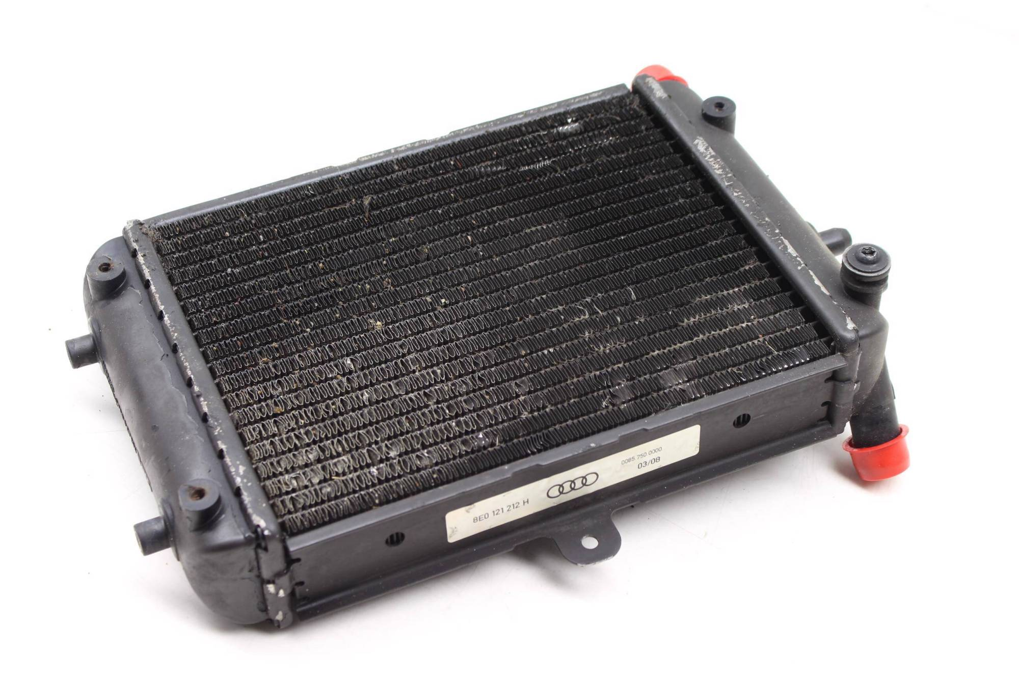 hight resolution of 2007 2008 audi rs4 b7 auxiliary secondary radiator