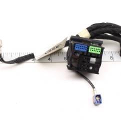 05 08 audi a4 b7 rnse rns e radio nav unit wiring harness connector set [ 2592 x 1728 Pixel ]
