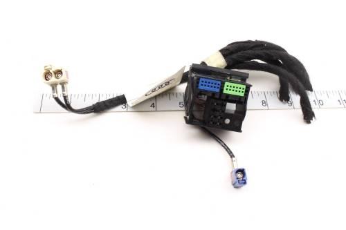 small resolution of 05 08 audi a4 b7 rnse rns e radio nav unit wiring harness connector set