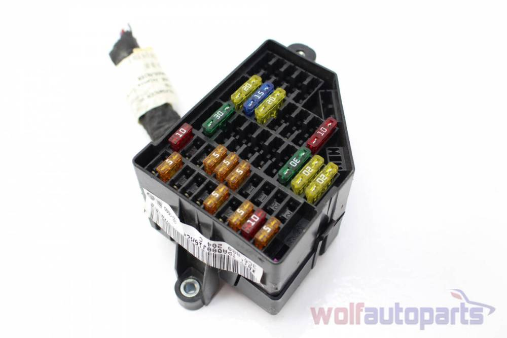 medium resolution of 2006 2007 2008 vw passat b6 right fuse box