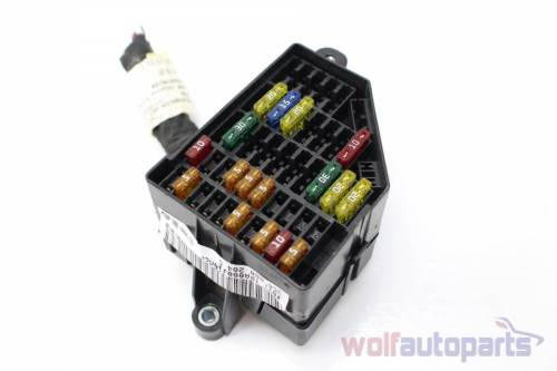 small resolution of 2006 2007 2008 vw passat b6 right fuse box