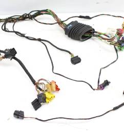 2000 2001 2002 audi s4 b5 front left door wire wiring harness [ 1920 x 1280 Pixel ]