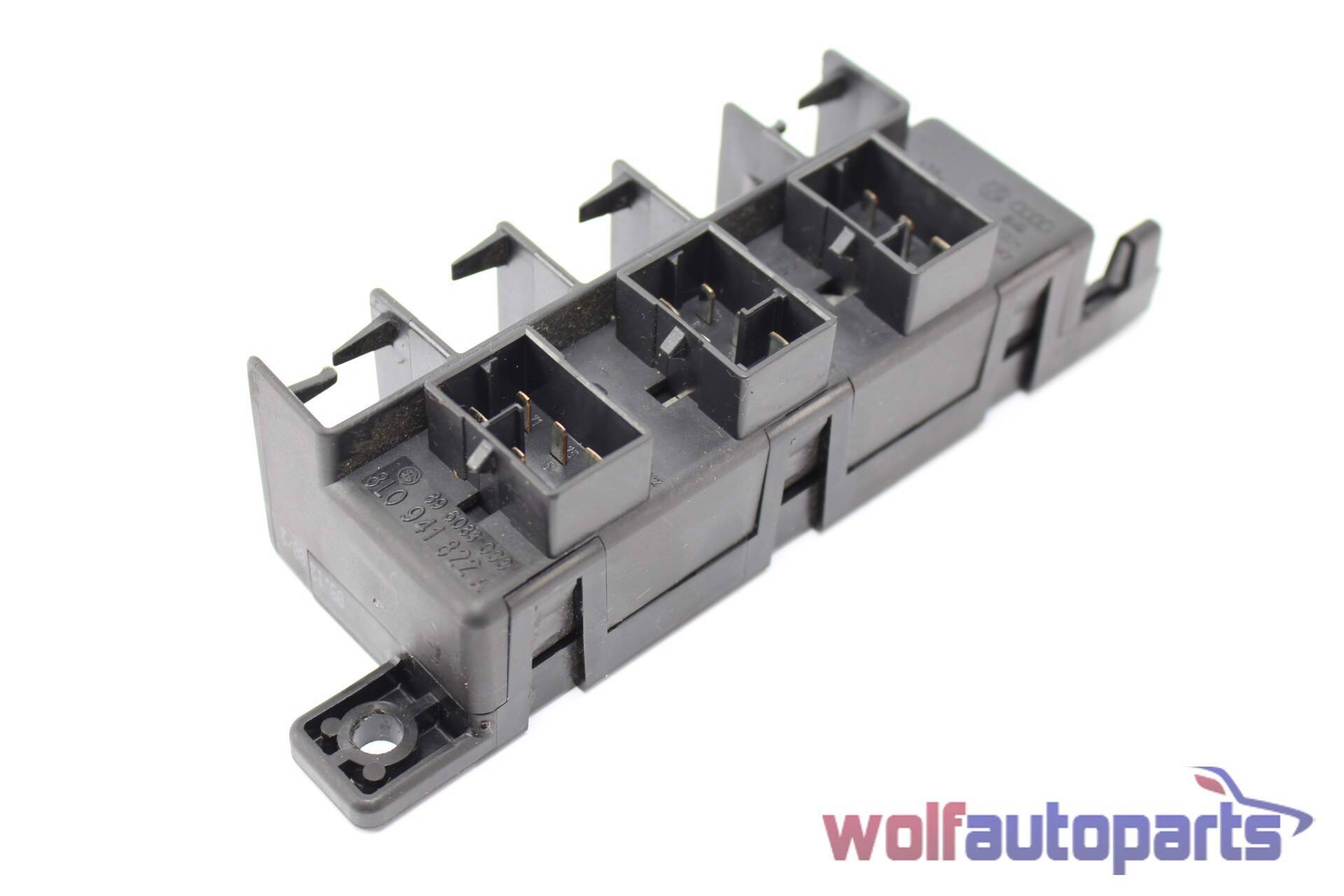 hight resolution of 2001 2002 2003 2004 2005 audi allroad c5 fuse box relay plate