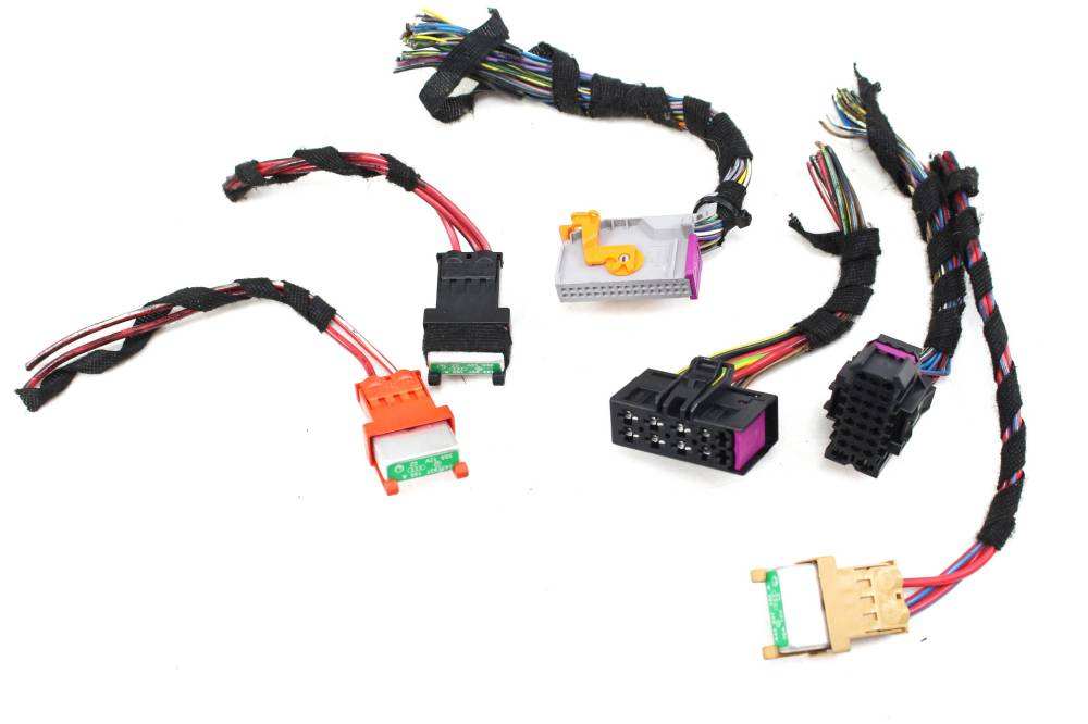 medium resolution of details about 07 09 audi a4 b7 onboard body control module wiring harness connector set standardr gmc acadia 2007 body wiring harness connector