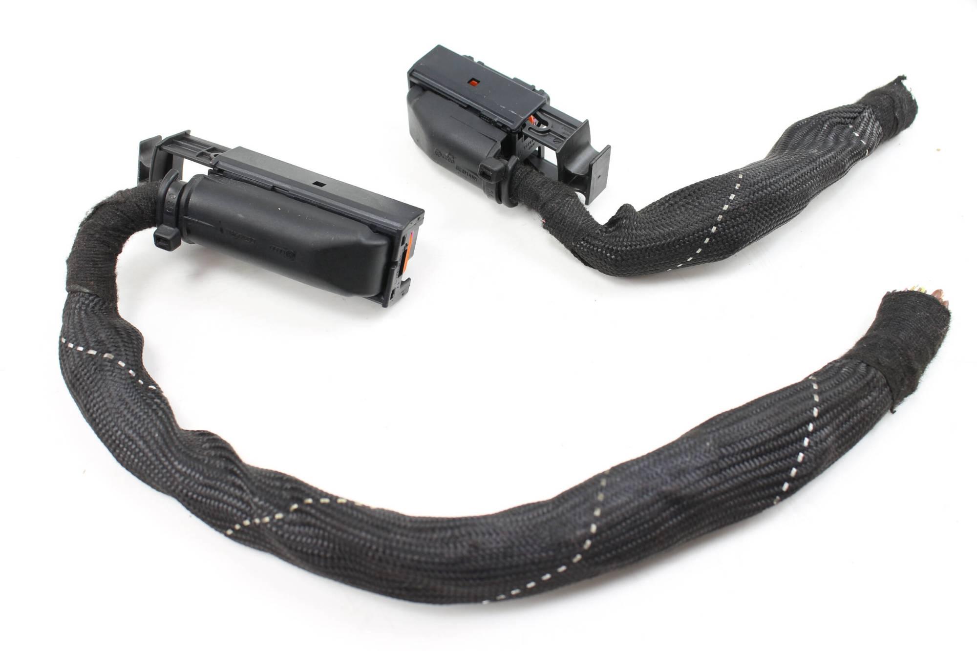 hight resolution of 04 audi s4 b6 4 2l ecu engine control module wiring harness connector set