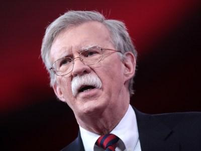 O assessor para a segurança nacional dos EUA, John Bolton